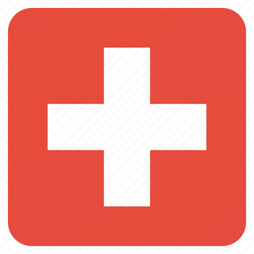 country, flag, national, swiss, switzerland icon