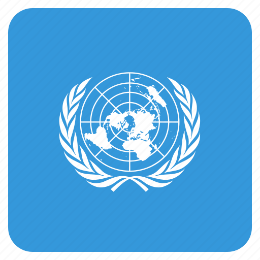 circle, flag, nations, un, united, world icon