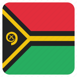 country, flag, national, vanuatu icon