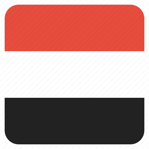country, flag, national, yemen icon