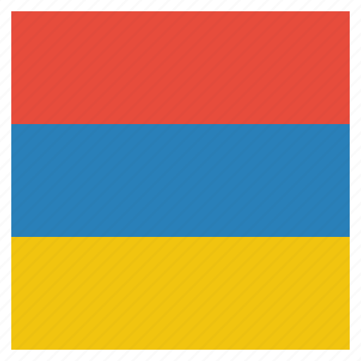 armenia, armenian, country, flag, national icon