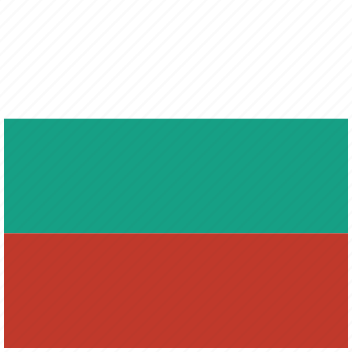 bulgaria, bulgarian, country, flag, national icon