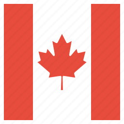 canada, canadian, country, flag, national icon