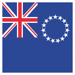 cook, flag, islands icon