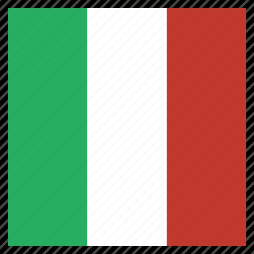 country, flag, italian, italy, national icon