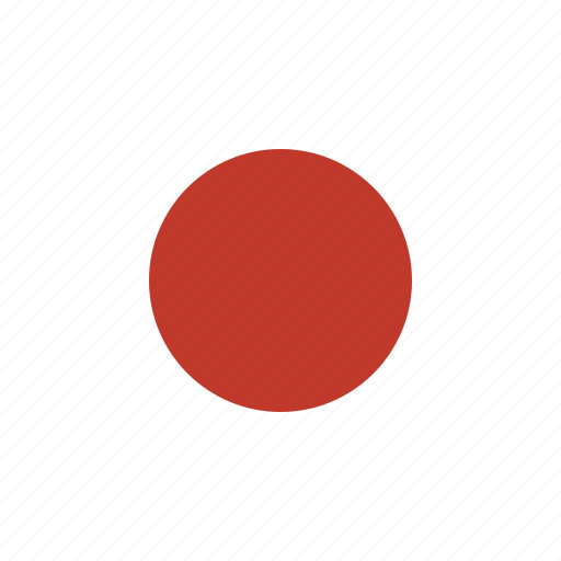 country, flag, japan, national icon