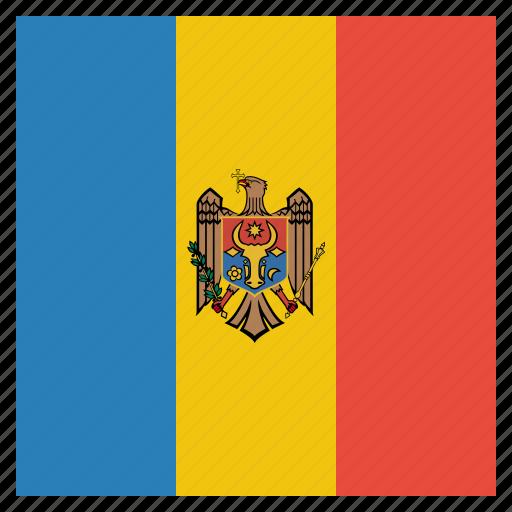 country, flag, moldova, moldovan, national icon