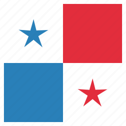 country, flag, national, panama icon