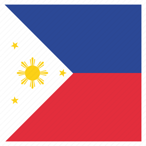 country, flag, national, philippines icon