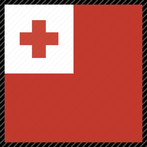 circle, flag, tonga icon