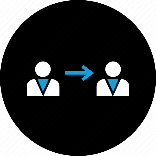 connect, instruct, talk icon