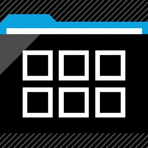data, files, multiple, six icon