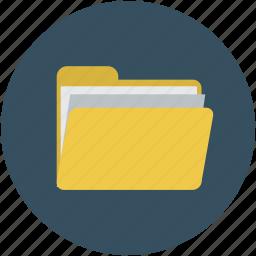 computer folder, document, file, folder icon