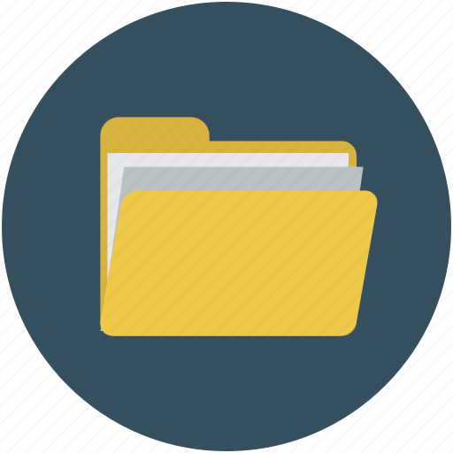 computer folder, document, file, folder icon