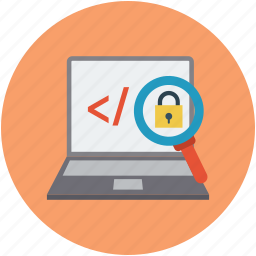 internet safety, locked site, secure code, website encryption icon