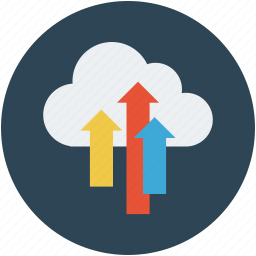 backup, cloud, cloud save, data, storage, upload icon