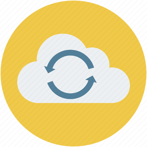 cloud, cloud sync, data, server, storage icon