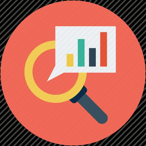 analytics, graph, search data, search engine optimization, seo icon