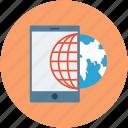 download, mobile, mobile data, mobile web, wifi icon