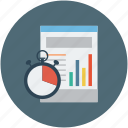 analytics, data, deadline, progress, statistics icon