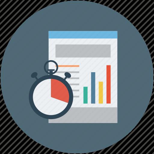 analytics, data, deadline, progress, statistics icon