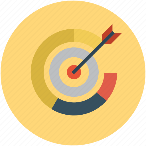 goal, sale, sales goal, target icon