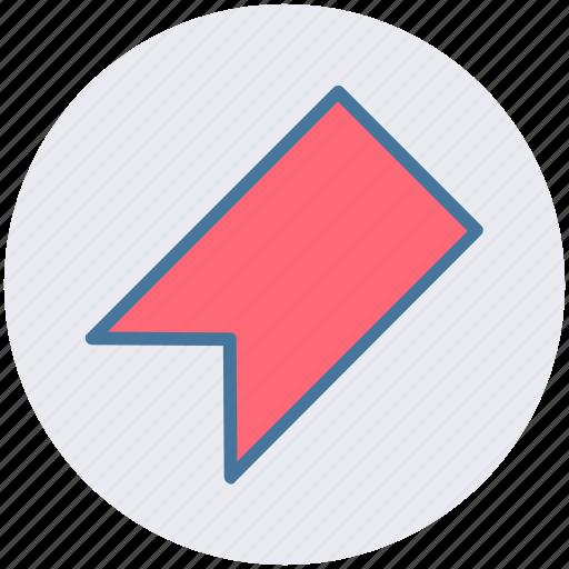 Bookmark, bookmarker, mark, ribbon icon - Download on Iconfinder