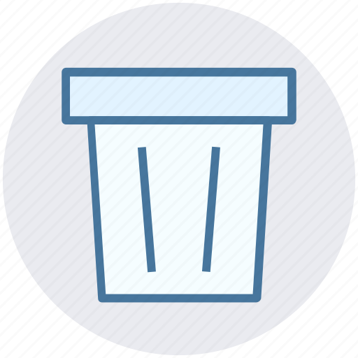 Dustbin, garbage can, rubbish bin, trash can, waste bin icon - Download on Iconfinder