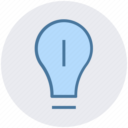 bulb, electric bulb, electric light, light, light bulb icon