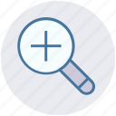 magnifying glass, search in, search tool, tool, view, zoom