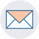 email, email message, envelope, letter, mail, message icon