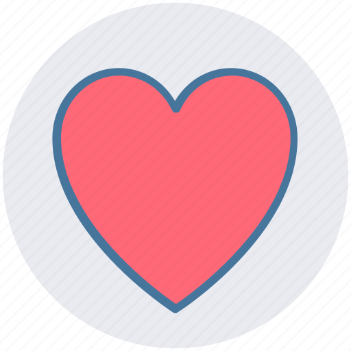 Heart, heart shape, like, love sign, valentine heart icon - Download on Iconfinder