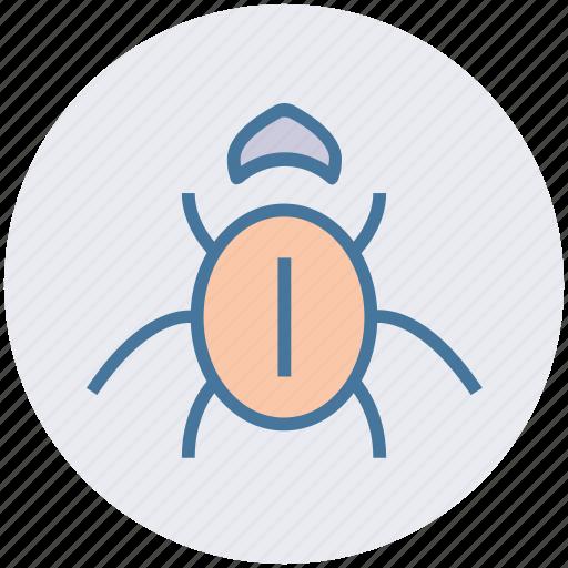 Bug, internet bug, virus, virus bug icon - Download on Iconfinder