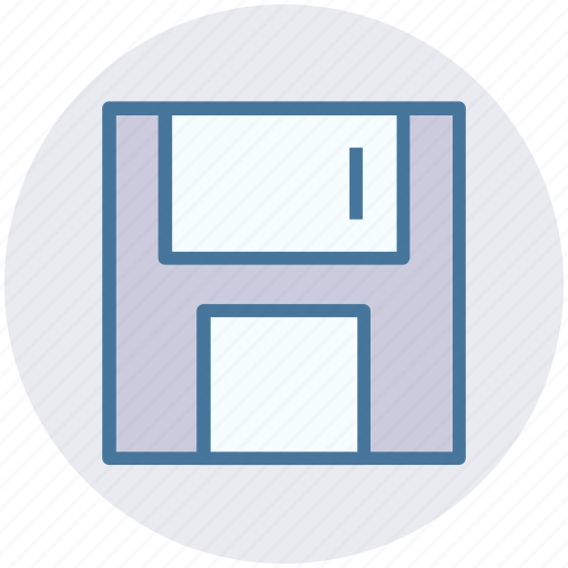 Disk, drive, floppy, floppy disk, storage icon - Download on Iconfinder