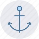 ship hook, sea, sea anchor, ship anchor, anchor