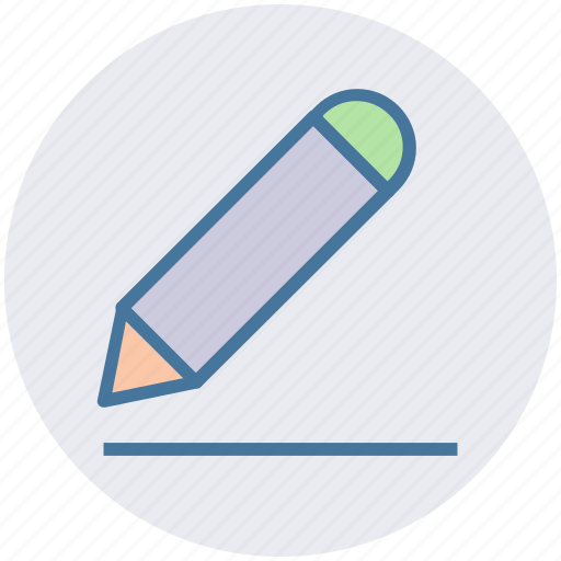 draw, draw sign, edit sign, pencil, write icon