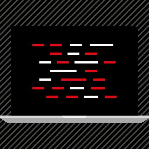 code, development, internet, lines, online, web icon