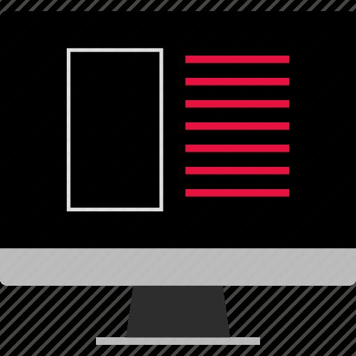design, mockup, web icon