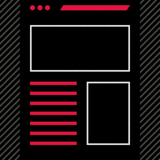 inteface, ui, web icon