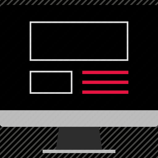 internet, ux, web icon