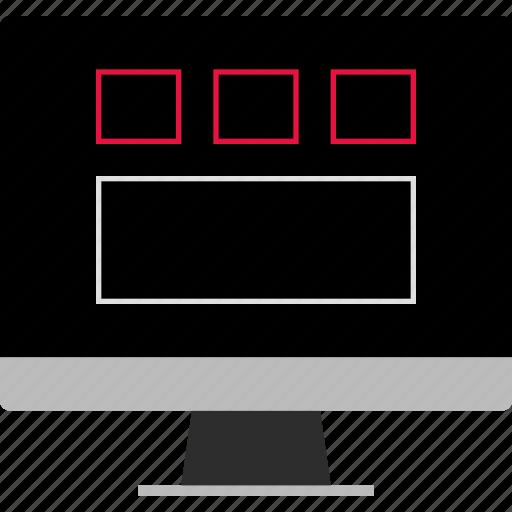 design, page, web icon