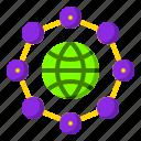 connectivity, dot, internet, network, website