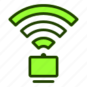 connection, internet, website, wifi, wireless icon