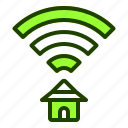 broadband, connection, internet, website, wifi icon