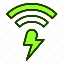 connection, data, fast, internet, website icon