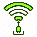 connected, internet, plug, website, wifi