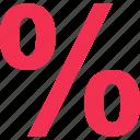 interest, percentage, rate, revenue icon