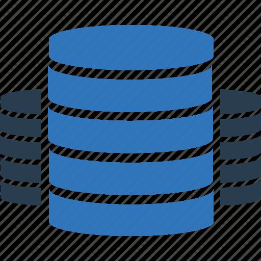 database, host, security, server, storage icon