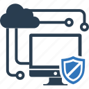 endpoint, protection, seo icon