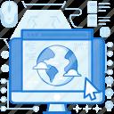 browser, computer, monitor, online, screen, webpage, website